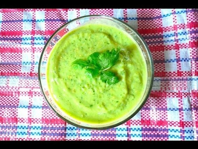 Salsa Verde de Aguacate - Mi Cocina Rápida