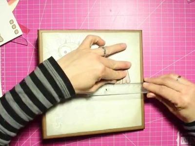 TUTORIAL Encuadernación de Espina diferente (Owl´s World)