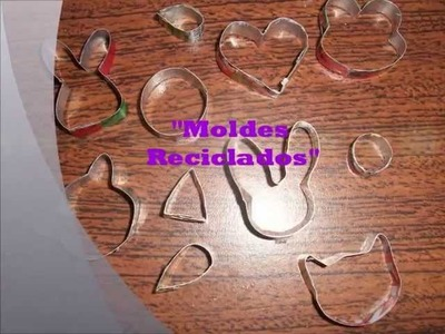 TUTORIAL:°°°Moldes Reciclados(pasta flexible)°°°
