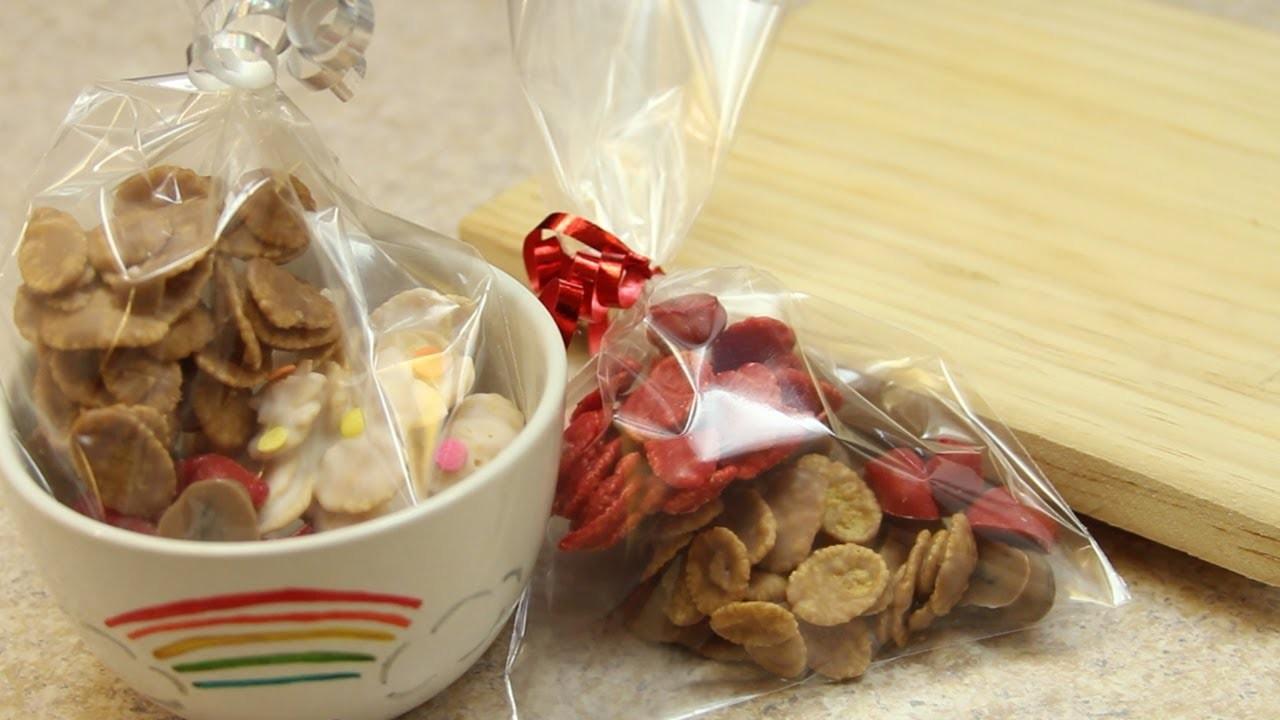 Cereal con chocolate y pasitas | Craftingeek*