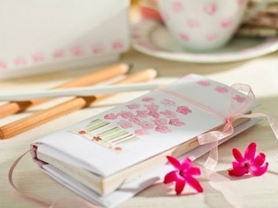 Cómo decorar una libreta con washi tape