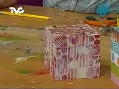 Cómo hacer una Caja Decorada 2a. Parte (EC)