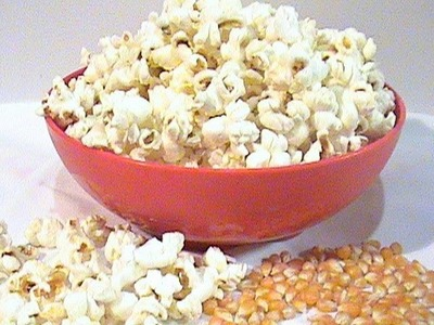 Como preparar las palomitas de maiz- popcorn