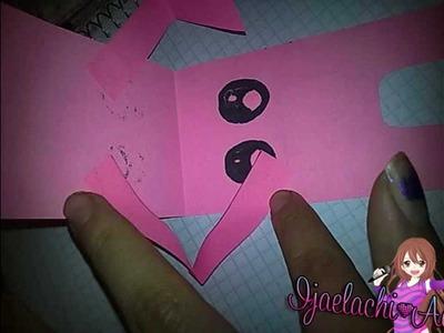 Crea una tarjeta de Domo Kun  :D