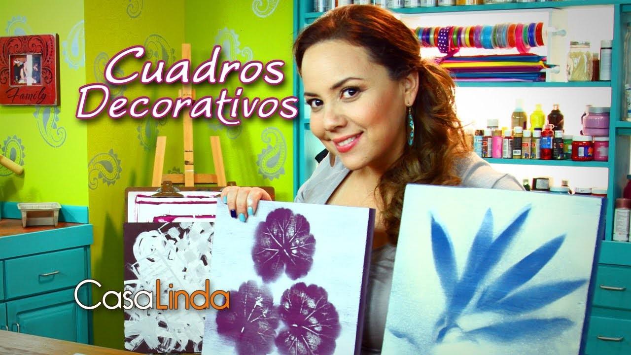 Cuadros Decorativos (DIY) - Casa Linda