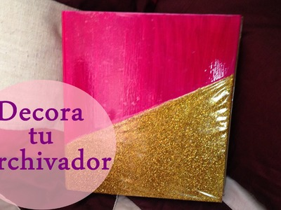 Diy | Decora tu carpeta chic !!
