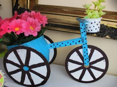Florero en forma de Bicicleta para MAMÁ!. Floritere