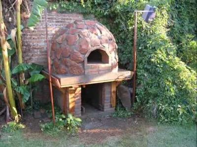 Horno de barro y piedra (pizza Oven) en Durango