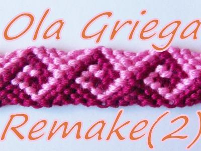 Pulsera de Hilo: Ola Griega Remake (2)