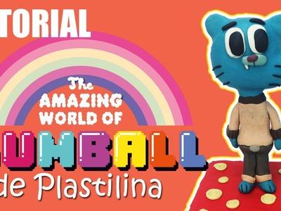 Tutorial El Increible mundo de Gumball de Plastilina