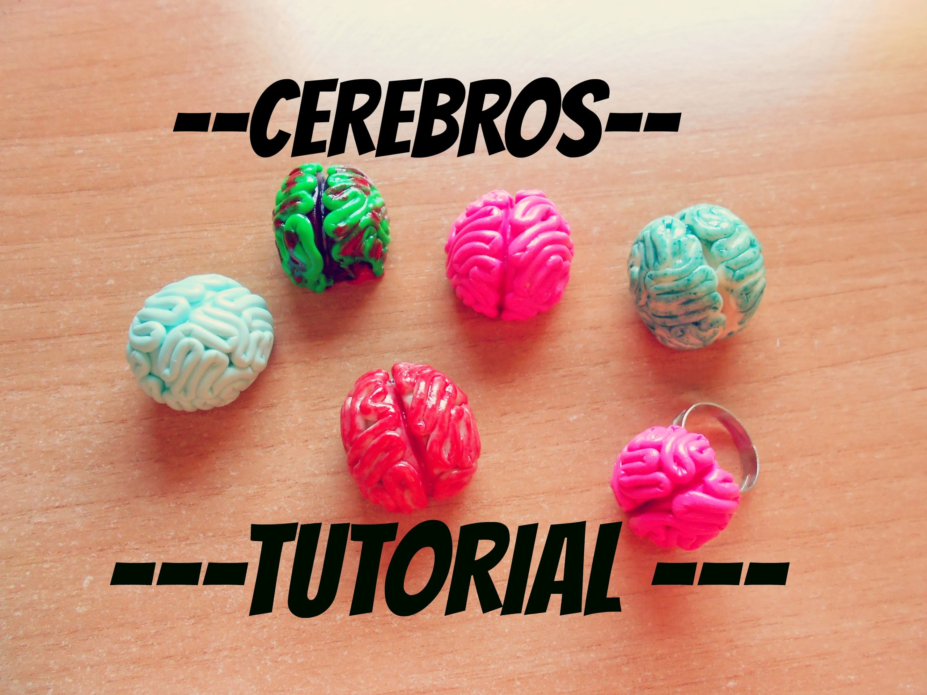 Tutorial: Cerebros, anillo y colgante