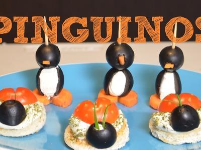 Bocadillos: PINGÜINOS Y CATARINAS | Rectas de cocina fáciles