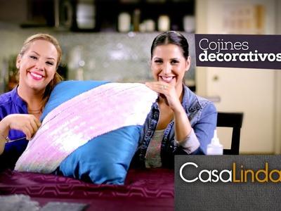 Cojines Decorativos (DIY) - Casa Linda y Cris Ordaz (Episodio 3)