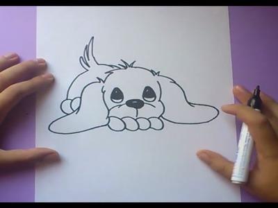 Como dibujar un perro paso a paso 3 | How to draw a dog 3
