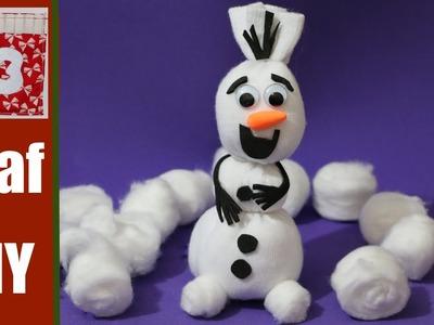 Cómo hacer a Olaf de Frozen con calcetin