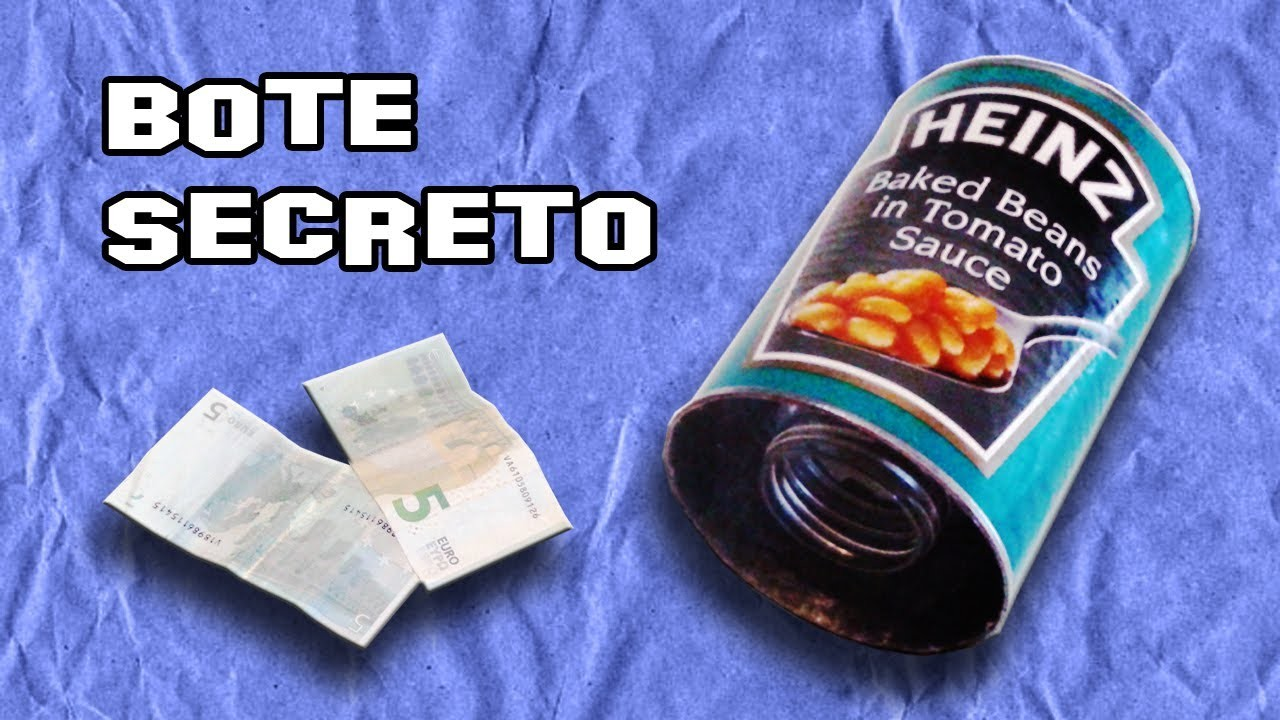 Como Hacer un Bote Secreto |  How To Throw Secret