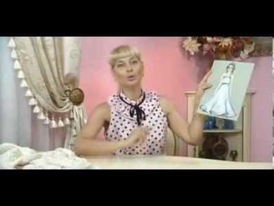 Como hacer un vestido de encaje elegante para fiesta