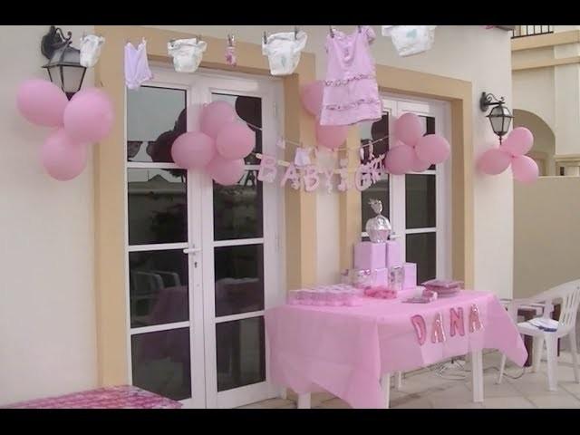 Ideas de Decoración para un Baby Shower de Niña (Colaborativo Pink Day)