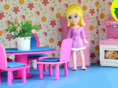 Manualidades para muñecas : Haz un juego de comedor para tus mini muñecas