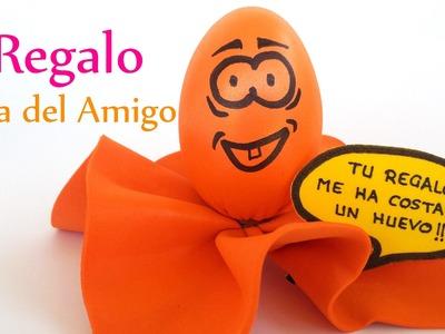Manualidades: REGALO para el DÍA del AMIGO (huevo goma eva foamy)  - Innova Manualidades