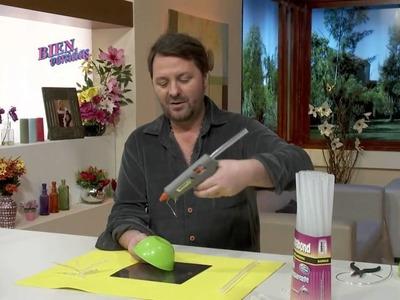 Martín Muñoz - Canasta Cristal con Libélulas