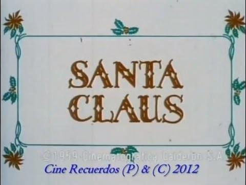 Santa Claus - Pelicula Completa (1959) México - HD