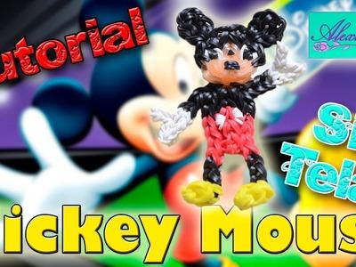 ♥ Tutorial: Mickey Mouse de gomitas (sin telar) ♥