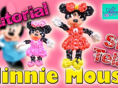 ♥ Tutorial: Minnie Mouse de gomitas (sin telar) ♥