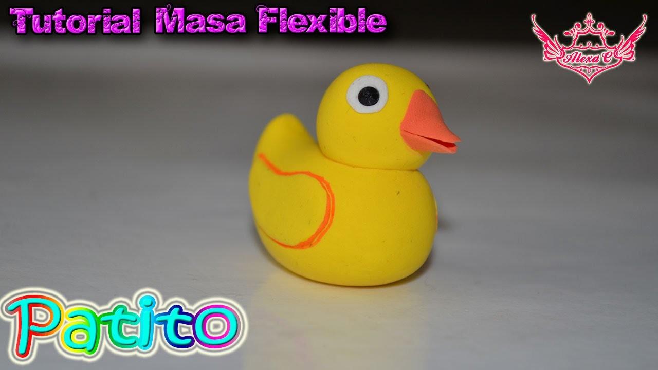 ♥ Tutorial: Patito de Masa Flexible ♥