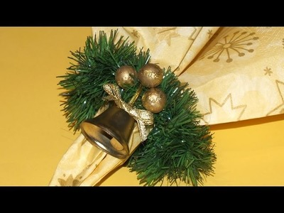 Adornos para la mesa de Navidad - DIY - Decoration to the Christmas Table