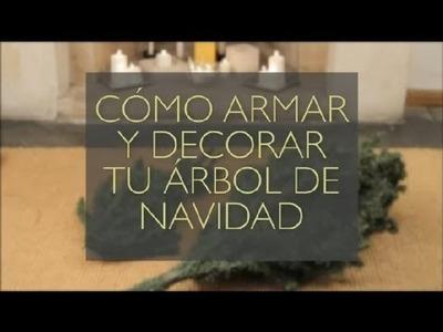 Cómo armar y decorar tu árbol de navidad : Manualidades navideñas para hacer con tu familia