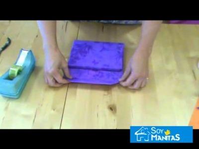 Cómo envolver regalos con forma de bolso