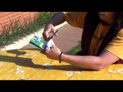 Como hacer carteras con envases tetra brik