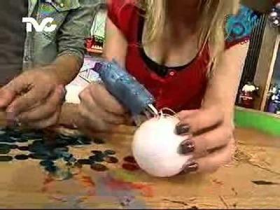 Cómo hacer Esferas con Lentejuelón (EC)