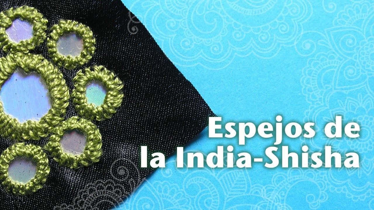 Cómo Hacer Espejos Bordados de la India o Shisha