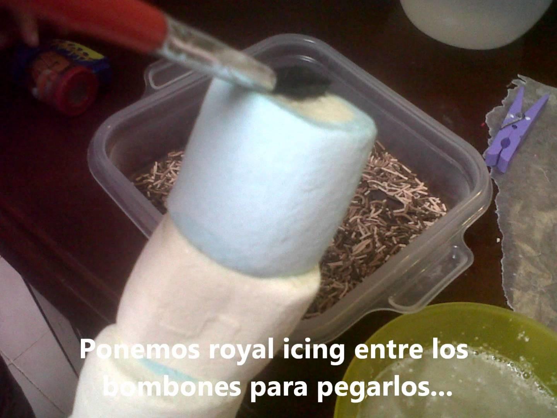 Como hacer paletas bombon o malvavisco con chocolate y confituras