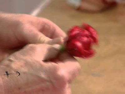 Como hacer rosas con globos