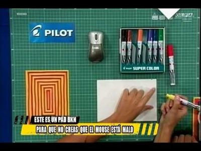 Como hacer un mouse pad