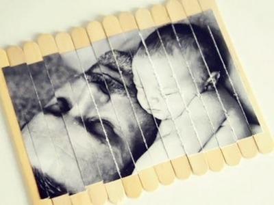 Cómo hacer un puzzle casero para el Día del Padre