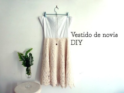 Cómo hacer un vestido de novia boho DIY