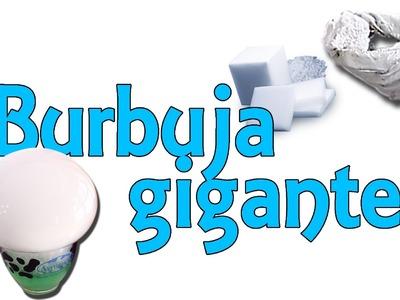 Cómo hacer una burbuja gigante con hielo seco (Experimentos Caseros)