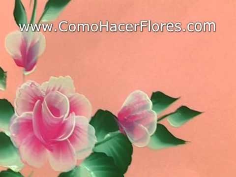 Cómo Pintar Flores - Clase GRATIS