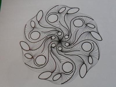 COMPLEMENTO DE LECCION Nº 2 (1. 3) Dibujo de un mandala, mediante ejercicios de soltura.