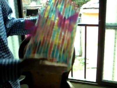 Curso de  Bellas manualidades en botellas plásticas.