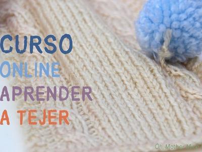 Curso online gratis: Aprender a tejer 1