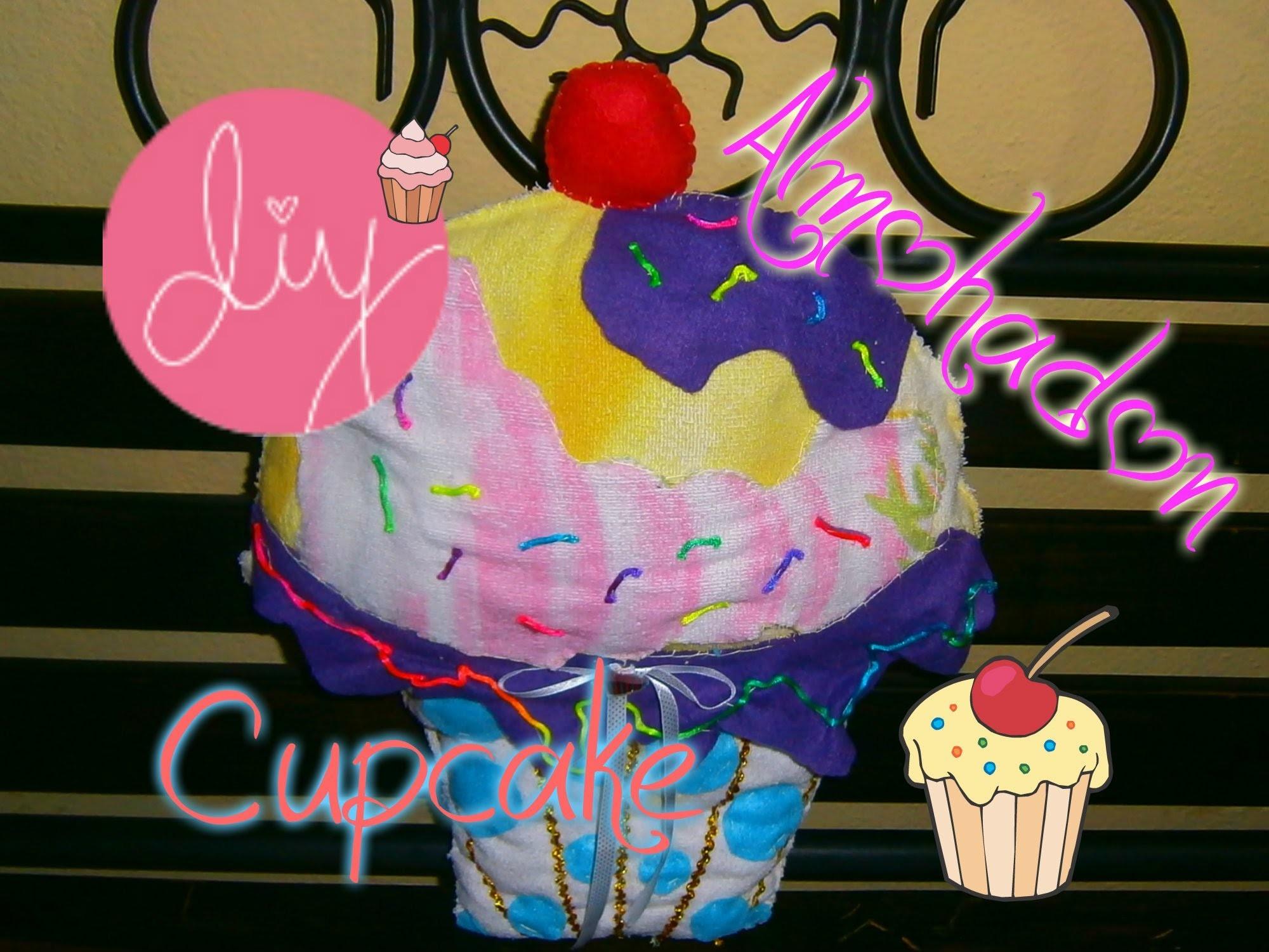 DIY Almohadón o Cojín de Cupcake.Cupcake Cushion