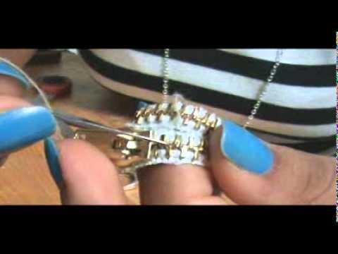 DIY anillo de cremallera o cierre (3)