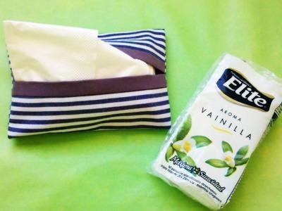 DIY: Porta pañuelos descartables