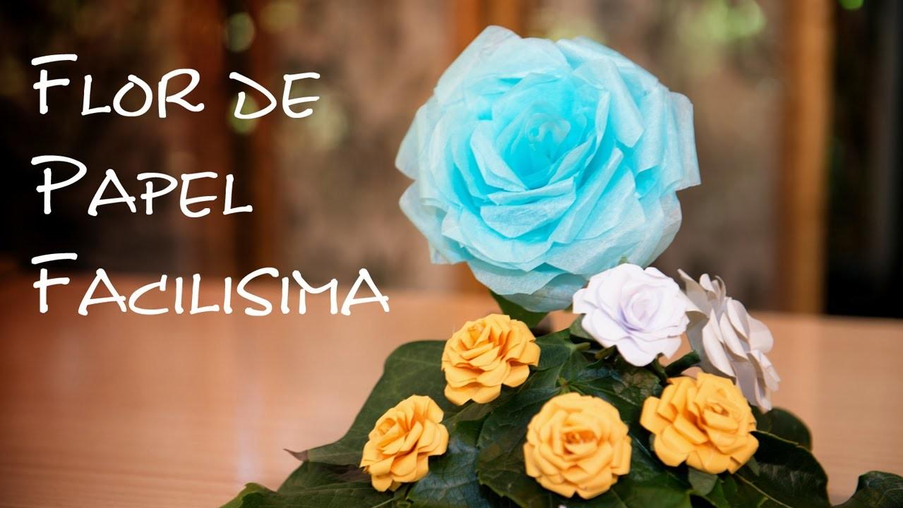 Flor de Papel, La Mas Facil, Bella y Versatil