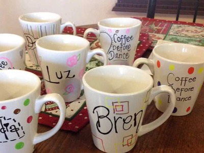 Idea de regalito, tazas decoradas